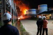 Tangki Minyak Sawit di Dumai Riau Terbakar Hebat, 2 Pekerja Tewas