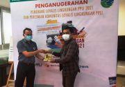 Jurnalis Sindonews Raih Penghargaan Loyalis Lingkungan PPLI 2021