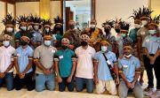 Wakil Dubes AS Terima 24 Pelajar Papua Yang Akan ke University of Rhode Island