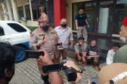 Resahkan Sopir Truk, 8 Pemalak Ditangkap Polrestabes Palembang