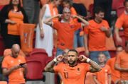 Babak I Belanda vs Austria: Penalti Depay Bawa De Oranje Unggul