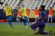 Brasil Mengamuk, Gasak Peru di Laga Kedua Copa America 2021