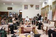 Panglima TNI dan Kapolri Perintahkan Pasukan PPKM Mikro di Jatim Diperkuat
