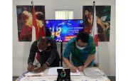 MoU Kerja Sama Pengelolaan Dana Komersial Perparnas XVI Papua Diteken