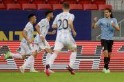 Kalahkan Uruguay, Argentina Raih Kemenangan Pertama di Copa America 2021