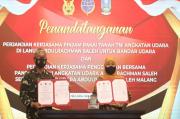 Pemprov Jatim-TNI AU Sepakati Kerjasama Pinjam Pakai Tanah Lanud Abdulrachman Saleh sebagai Bandara