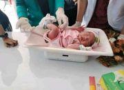 Geger, Bayi Masih Merah Ditemukan di Halaman Rumah Warga