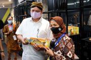 Pastikan Penguatan UMKM di Masa Pandemi, Airlangga Tinjau Pelatihan UMKM di Jogja