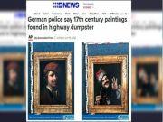 Dua Lukisan Abad ke-17 Ditemukan di Tempat Sampah