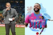 De Boer Lega Depay Resmi Gabung ke Barcelona