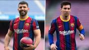 Laporta Akui Kedatangan Aguero Bikin Messi Bertahan di Barcelona