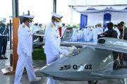 Resmikan Skuadron 100 Antikapal Selam, TNI AL Pertajam Kekuatan Pesawat Tanpa Awak