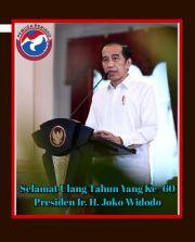 Jokowi Ultah ke-60, Pemuda Perindo: Semoga Segera Bawa RI Keluar dari Pandemi