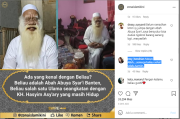 Viral Penampakan Abah Abuya Syari Banten, Bikin Warganet Geger