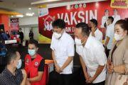 Rekor Baru, Dalam Sehari Vaksinasi di Manado Tembus 4 Ribu Orang