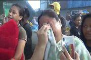 Tangis Warga Pecah saat Puluhan Rumah di Bitung Tengah Hangus Dilalap Si Jago Merah