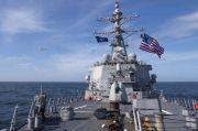 Kapal Perangnya Kerap Transit di Selat Taiwan, China Cap AS Pembuat Onar