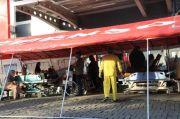 Pasien COVID-19 Meroket, RSUD Tugurejo Semarang Terpaksa Dirikan Tenda Darurat