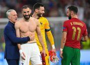 Benzema Akhiri Tujuh Tahun Puasa Gol di Timnas Prancis