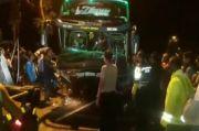 Bus Hantam Tiga Mobil di Banyumas, 6 Orang Tewas Seketika