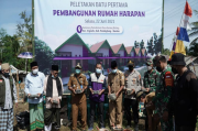 Beri Perhatian kepada Mantan Penganut Islam Hakekok, BMM Bangun Rumah Harapan