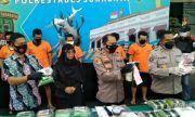 Peredaran 20,43 Kilogram Sabu di Surabaya Berhasil Dibongkar Polisi, Lima Orang Diamankan