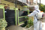 Tekan Penyebaran Covid-19, Baja Perindo Lakukan Penyemprotan Disinfektan Ratusan Rumah di Bekasi