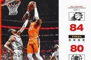 Final Playoff NBA: Hajar LA Clippers, Suns Butuh Satu Kemenangan Lagi