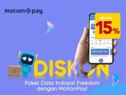 Diskon 15% Beli Paket Data Indosat di MotionPay dari BCAP, Begini Caranya!