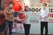 Melalui BenihBaik, SOGO Salurkan Donasi untuk Bantu Penanganan Covid-19
