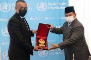 Bahas Kerja Sama Militer dan Kesehatan, Prabowo Temui Dirjen WHO