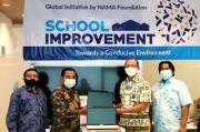 NAMA Foundation dan NICE Indonesia Beri Bantuan Sarana Pendidikan 10 Sekolah di Jabodetabek