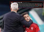 Swiss Kalah Adu Penalti Lawan Spanyol, Xherdan Shaqiri Sebut Timnya Kurang Beruntung