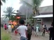 Konawe Mencekam, 2 Kelompok Pemuda Saling Serang, 4 Rumah Dibakar
