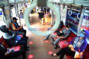 Hari Kerja Pertama Saat PPKM Darurat, Pengguna KRL Turun 27 Persen