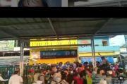 PPKM Darurat, Pekerja dari Bogor Tujuan Jakarta Menumpuk di Stasiun KRL