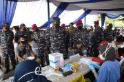 Korps Marinir Vaksinasi 1.000 Masyarakat Pesisir di Marunda