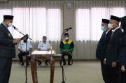 Jajaran Pejabat Perusda PT BMS Dilantik, Ini Harapan Bupati Maros