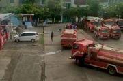 Kantor Balaikota Makassar Disemprot Disinfektan Setelah Lockdown