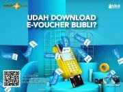 Tingkatkan Transaksi Kartu Kredit MNC Bank & Unduh MotionBanking, Ribuan e-Voucher Blibli Menanti Anda