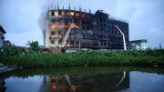 Horor, 52 Orang Hangus Terbakar dalam Kebakaran Pabrik Bangladesh