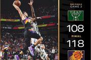 Game 2 Final NBA: Tato Jadi Jimat Devin Booker Antar Suns Menang Lawan Bucks