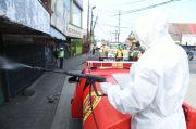 Putus Penyebaran Covid-19, Tim Velox BIN Semprotkan Disinfektan di Jalan Bogor