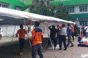 Tambah Ruang IGD, BPBD DKI Bangun Tenda Darurat di RSKD Duren Sawit Jaktim
