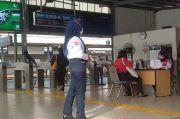 Hari Pertama Pemeriksaan STRP, Sejumlah Penumpang Protes di Stasiun Tangerang