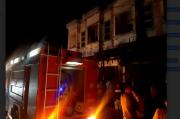Dua Toko Bangunan di Bandar Baru, Pidie Jaya Terbakar