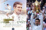 Juara Wimbledon 2021, Djokovic Sejajar dengan Federer dan Nadal