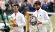 Novak Djokovic Puji Performa Matteo Berrettini di Wimbledon 2021