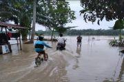 Sungai Meluap, Puluhan Rumah di Simalungun Terendam Banjir Warga Mengungsi di Masjid