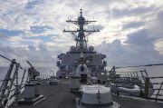 AS Bantah Kapal Perangnya Diusir China dari Laut China Selatan